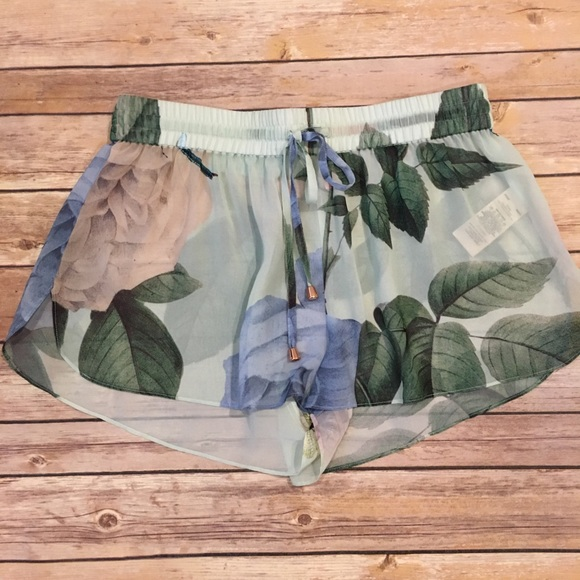 Ted Baker Pants - Ted Baker Swim Cover Up Shorts, Size M